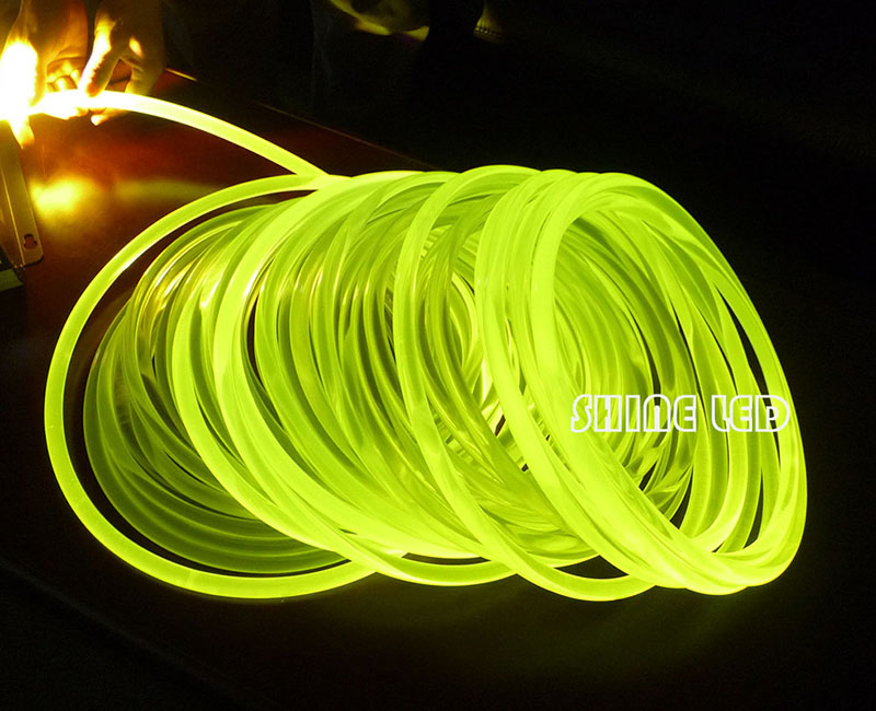 8.0mm Diameter Super Bright PMMA Optical Fiber Cable Side Glow  For Fiber Optic Lighting DIY Light Decoration