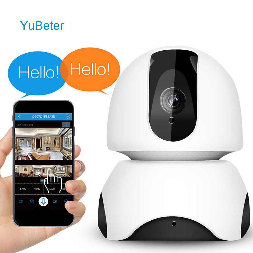 YuBeter Security Camera Wifi 2mp Mini IP Camera 1080 CCTV HD office Surveillance Two Way Audio Night Vision baby Camera