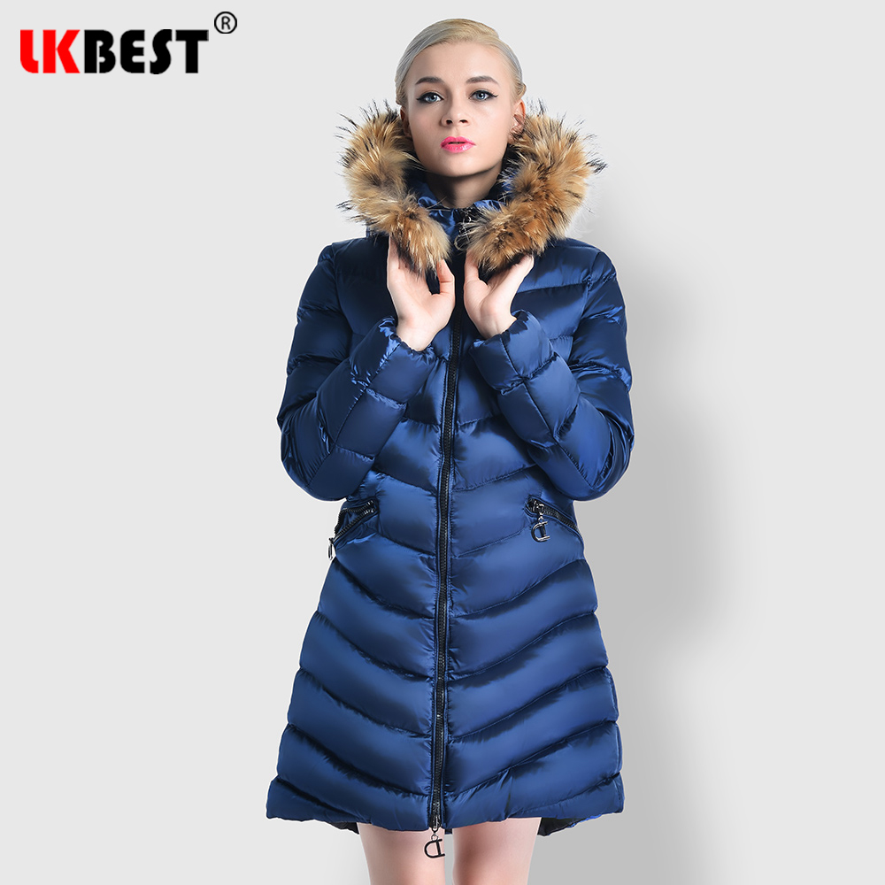 Blue dark Des Femmes Casual Chaud À long Fourrure Parkas X Hiver 2019 Dame Longues De Survêtement Overcaot Y79 Capuchon Lkbest win Red Manteau Veste Black vN8nmywO0
