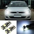 2x LED Parking City Light Error Free bulb car width light For VW Golf MK6 & GTI Golf6 2009 2010 2011 2012 2013 2014 Car Styling