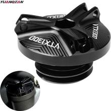 For Honda VTX1300 VTX 1300 VTX 1300 2003 2008 Motorcycle Accessories parts M20*2.5 Engine Oil Drain Plug Sump Nut Cup Plug Cover