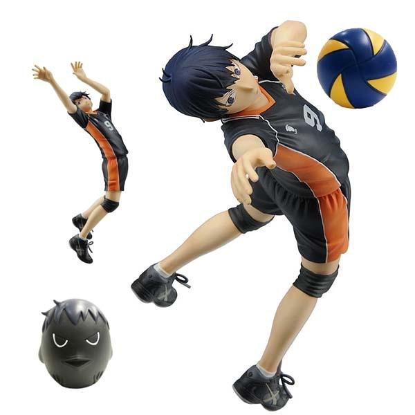 ФОТО Anime Cartoon Haikyuu!! kageyama Tobio PVC 17CM  Action Figures Collectible Toy