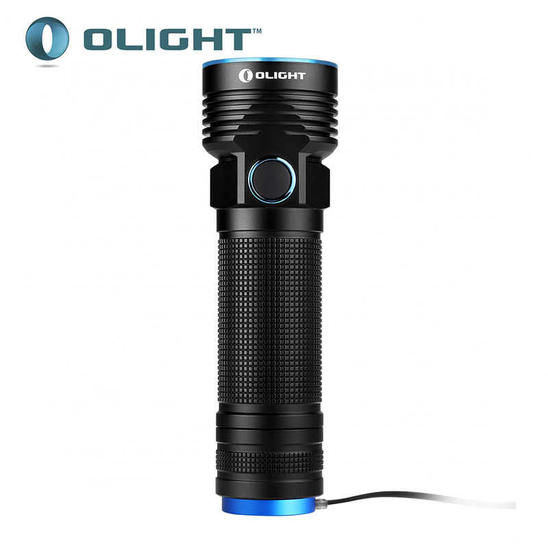 2016 new Olight R50 PRO SEEKER Cree XHP70 cool white LED 3200 lumens Flashlight include 4500mAh 26650 high capacity battery-in Flashlights & Torches from Lights & Lighting    1