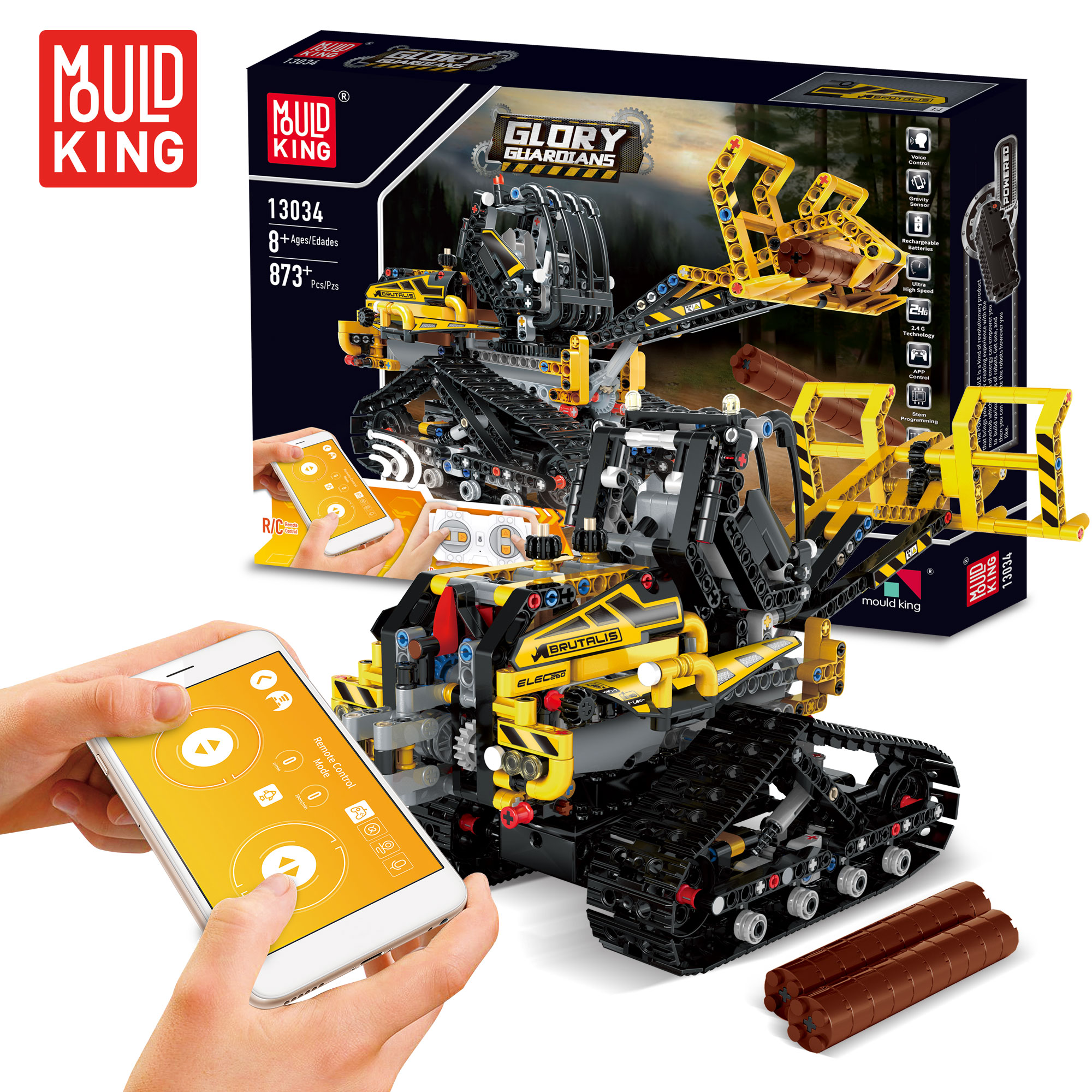 Mould-King-Technic-Blocks-13034-13035-Rc