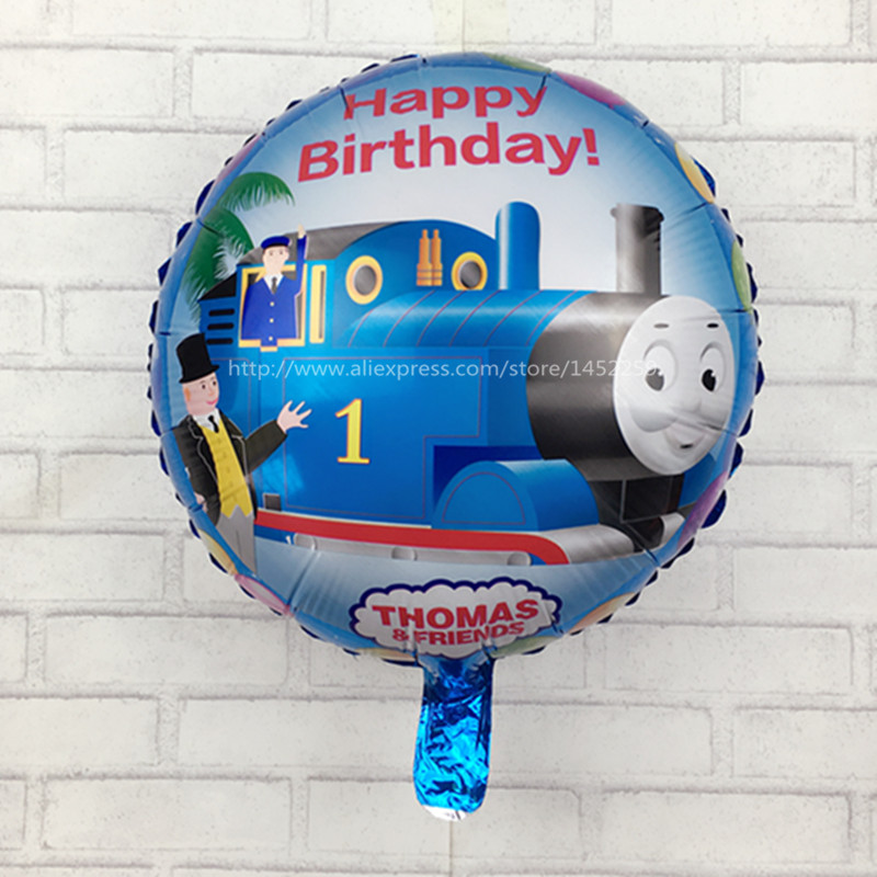 XXPWJ Free shipping 5pcs / lot new cartoon aluminum helium balloon 18 inch round