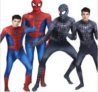 2017 NEW Spiderman costume superhero cosplay adult children halloween costumes spider man suit kids cosplay spider man clothing