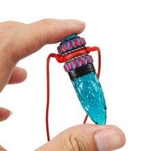 Takerlama collier pendentif Cosplay de princesse de dessin animé, Mononoke, him, amulette de loup bleu, accessoires pour Cosplay, qualité supérieure