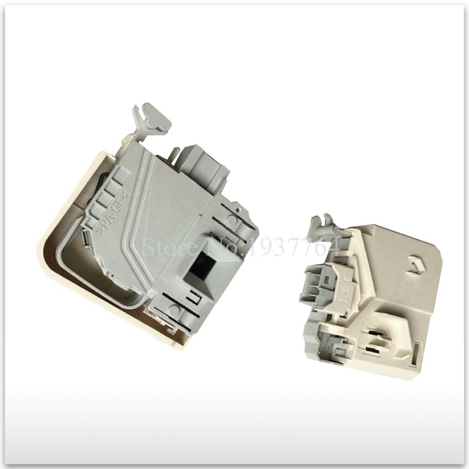 1pcs Original for siemens washing machine electronic door lock delay switch WD-N10230D WD-N12235D WD-N10270D 3 insert original new for lg drum washing machine door hinge 42741701 1pcs