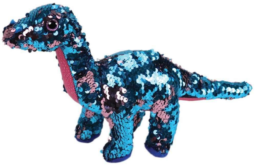"""Ty Vaias Gorro 6 """"15 centímetros Colorido Azul Regular do Dinossauro de Pelúcia Macia Grande-eyed Stuffed Animal Boneca Coleção brinquedo"""