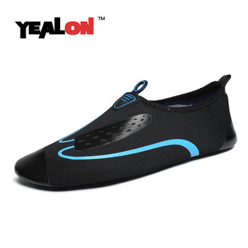 YEALON Multifunctional Fitness men Sport Shoes Sneakers Comfortable Cross-Training Sports Women Swimming Shoes Beach Water Shoes cross training shoe