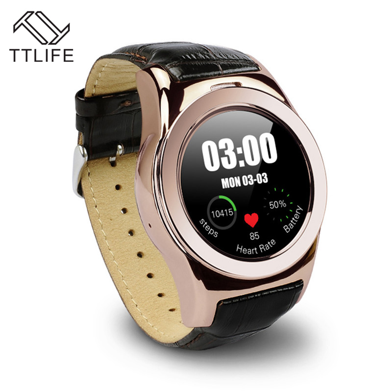 TTLIFE Brand Bluetooth Smart Watches LW01 font b Smartwatch b font Heart Rate Monitor Mp3 Mp4