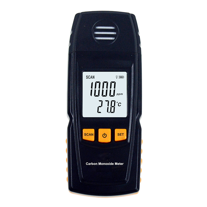 цены GM8805 Portable Carbon monoxide detector Handheld CO Gas meter Analyzer Measuring Range 0-1000ppm