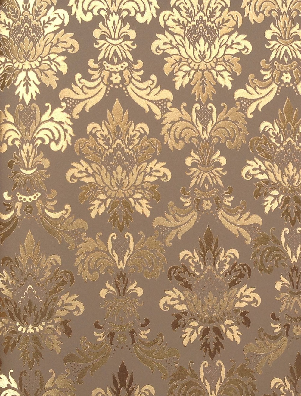 Cy222 Gold Foil Wall Paper Chinese Style Vinyl Wall Paper
