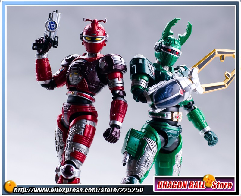 Masked Rider Beetle Fighter Original BANDAI Tamashii Nations SHF/ S.H.Figuarts Action Figure - G.STAG & REDDLE original bandai tamashii nations s h figuarts shf exclusive limited edition action figure blue beet from beetle fighter