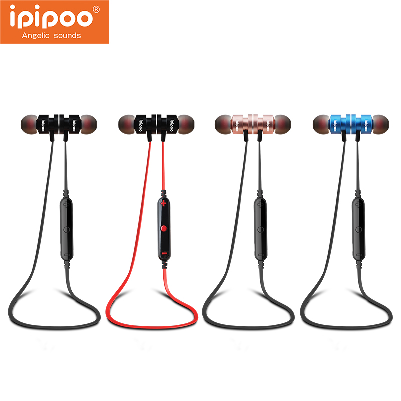 2017 Newest ipipoo iL93BL Wireless Headphones Bluetooth Earphones Fone de ouvido For Phone Neckband Ecouteur Auriculares Earbuds ttlife portable mini bluetooth 4 1 earphones car phone charger dock wireless headphones airpods for iphone xiaomi fone de ouvido