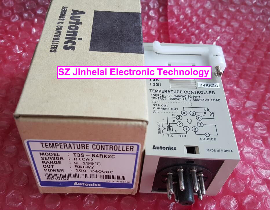 T3S-B4RK2C Authentic original AUTONICS Temperature controller 100-240VAC happy baby little fishma для ванной