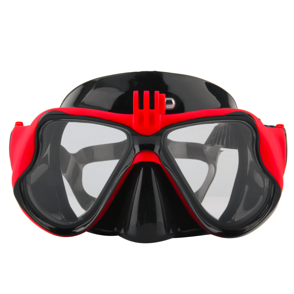 HWCamera Mount Diving Mask Scuba Snorkel Swimming Goggles for GoPro Hero 2 3 new arrival hwcamera mount diving mask scuba snorkel swimming goggles for gopro hero 2 3 new arrival