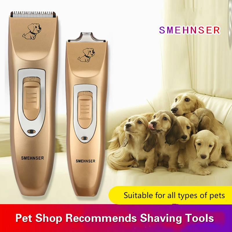 Pet electric hair clipper dog shaver rechargeable cat