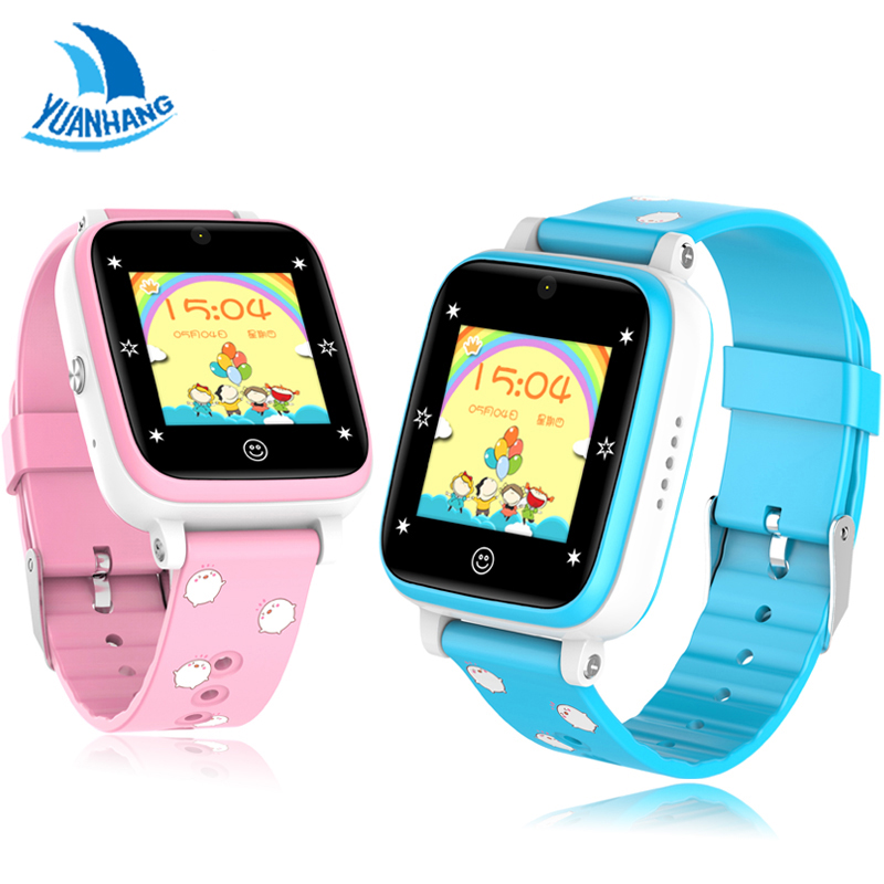 YH Remote Camera GPS WIFI Location 1.3 Touch Screen Kid Child Student 4G Smart Wristwatch SOS Call Monitor Tracker Alarm Watch new kid gps smart watch wristwatch sos call location device tracker for kids safe anti lost monitor q60 child watchphone gift