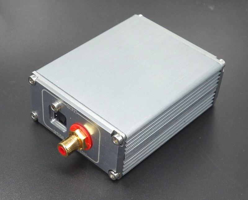 QUEENWAY HIFI AUDIO USB XMOS U8 DAC coaxial optical outpot digital interface suit Win10 8 7