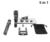 2016 Nuevo 5in1 8X de Zoom de la Cámara Lente Del Telescopio Del Teléfono Soporte titular Titulares de Teléfono Móvil lente 3in1 Fisheye Lente Gran Macro