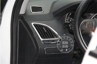Para HYUNDAI ix35 aire acondicionado outlet ABS Chrome recortar accesorios de automóviles decoración 4 unids por juego