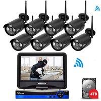 Wistino 8CH HD 720P Security IP Camera Outdoor WIFI Kit NVR CCTV Camera System Wireless Surveillance
