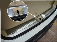 Accesorios aptos para 2014 2015 toyota HIGHLANDER KLUGER Protector de Parachoques Trasero interior maletero alféizar placa maletero labio|Parachoques| |  -