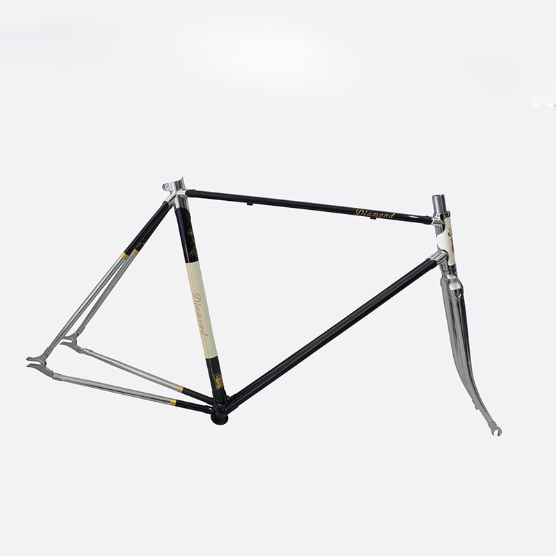 Customize Fixie Bike 4130 Chrome Molybdenum Steel Frame 700 C Frame 48 Cm 50 Cm 52 Cm 54 Cm 56cm 58cm Road Bike Frame