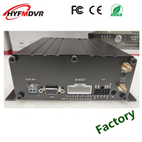 4 channel hard disk drive VCR high definition remote monitoring host 3G GPS MDVR support NTSC/PAL mode