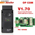 2017 OBD2 OP-COM OPCOM para Opel V1.70 Coche Escáner de Diagnóstico con Real PIC18f458 para Opel Herramienta de Diagnóstico OP COM Flash Firmware