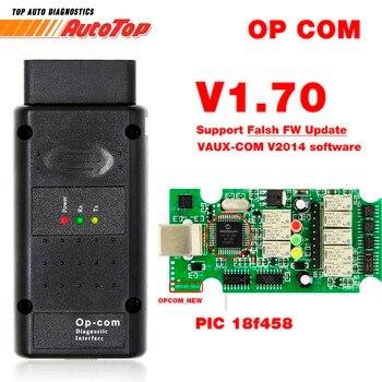 2019 OP COM for Opel V1.70 OBD2 OP-COM Car Diagnostic Scanner Real PIC18f458 OPCOM for Opel Car Diagnostic Tool Flash Firmware laptop bag
