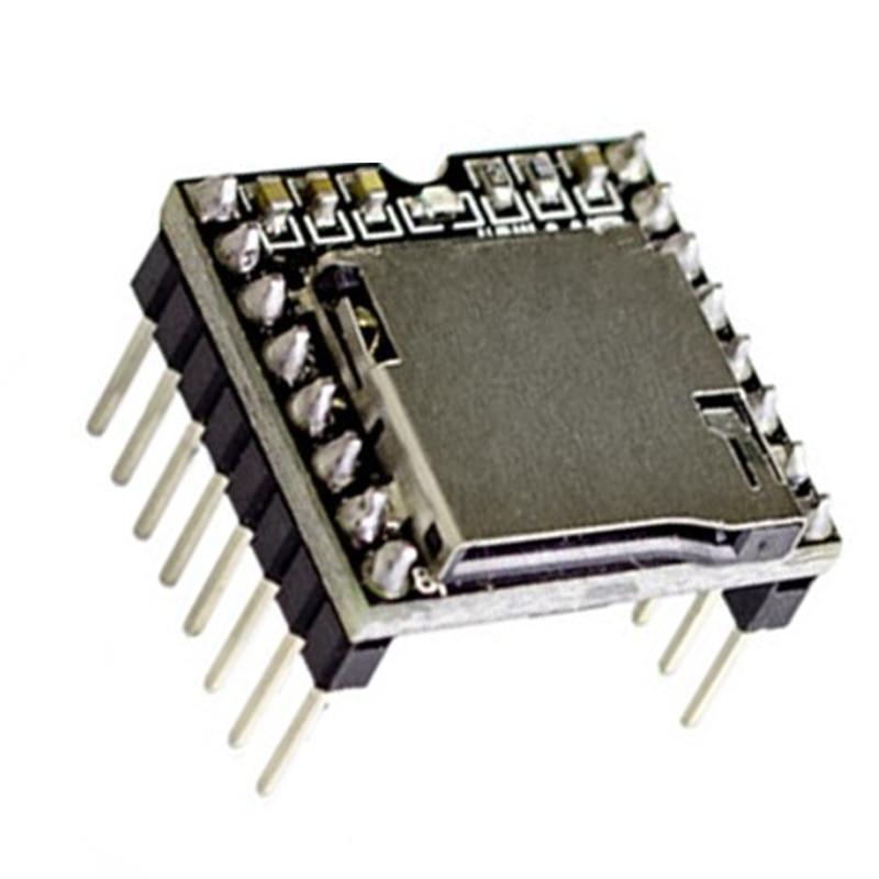 5 pcs tf cartao u disco mini mp3 player de audio placa do modulo voz para