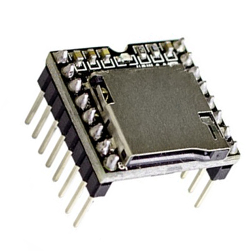 5pcs TF Card U Disk Mini MP3 Player Audio Voice Module Board For Arduino DFPlay Wholesale DFPlayer DIY Starter Kit led module