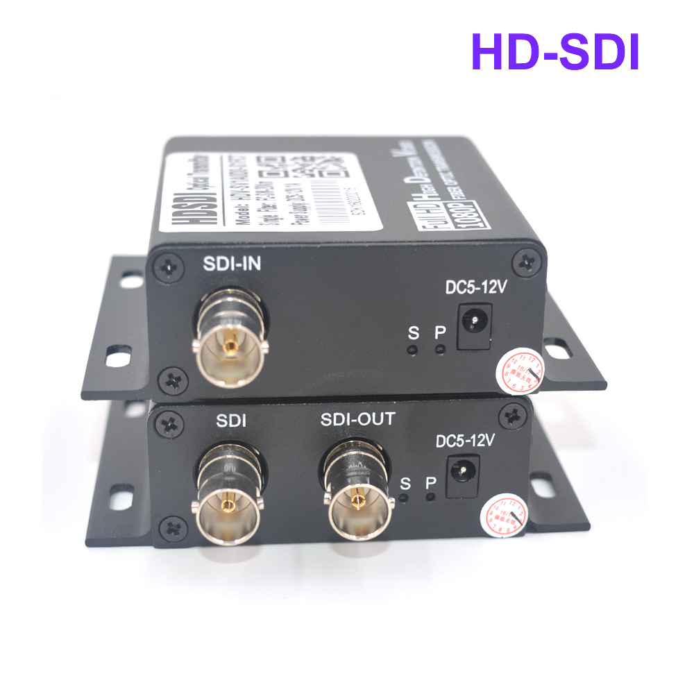 Mini Hd Sdi Optical Transceiver Fiber To Media Converter Video Optics And Circuit Board 00 10 Communications High Quality Transmitter Receiver