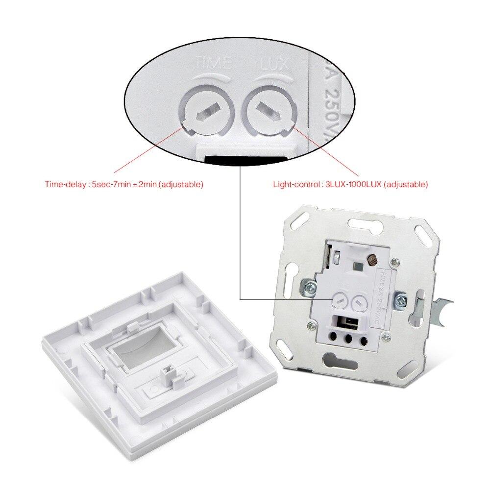 High Sensitivity PIR Sensor Switch AC110V 240V Infrared Motion ...