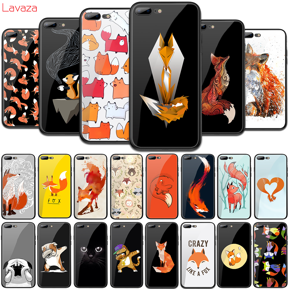 Tireless Lavaza H16 Puzzle Foxes Fox Tempered Glass Soft Case For Iphone 6 6s 7 8 Plus X 5 5s Se For Iphone Xs Max Xr Tpu Cover Cellphones & Telecommunications