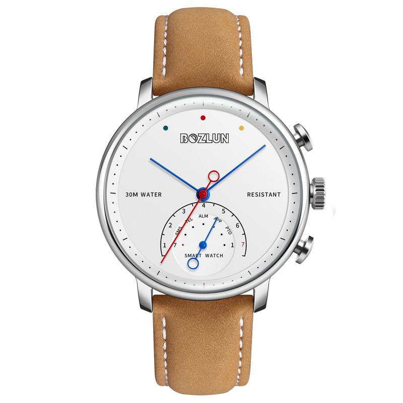 Binzi Smart Uhr Männer Top Marke Wasserdichte Sport Armband Für Android & Ios Business Luxus Quarz Uhren Relogio Inteligente Warm Und Winddicht