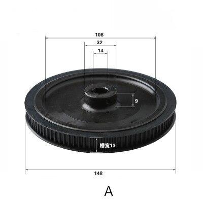 5M HTD5M 60T 12T Belt Width 20mm Timing Pulley Belt set kit Reduction Ratio 5:1