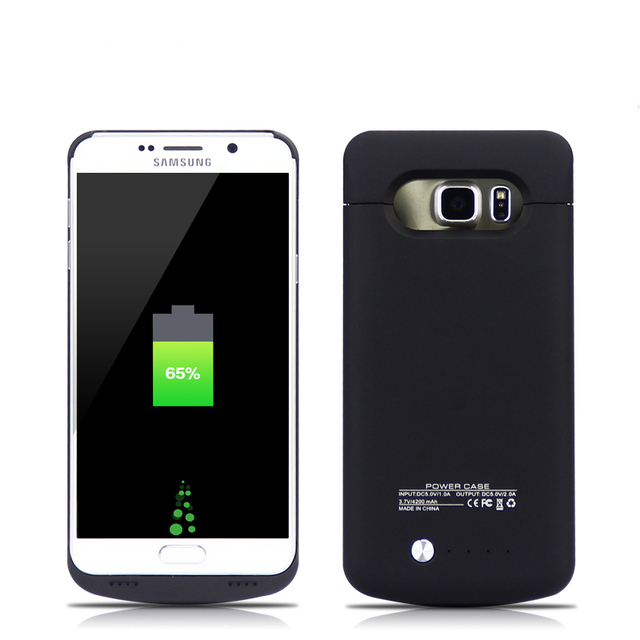 best authentic f87b8 4ad86 US $17.72 49% OFF GagaKing for Samsung Galaxy Note 5 and S6 Edge Plus Power  Case 4200mAh Battery Charger Phone Case Cover power bank battery -in ...