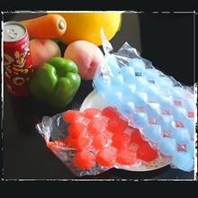 Мешок льда Материал ПВД холодильник форма для льда, лед делая мешок 100 шт одноразовые