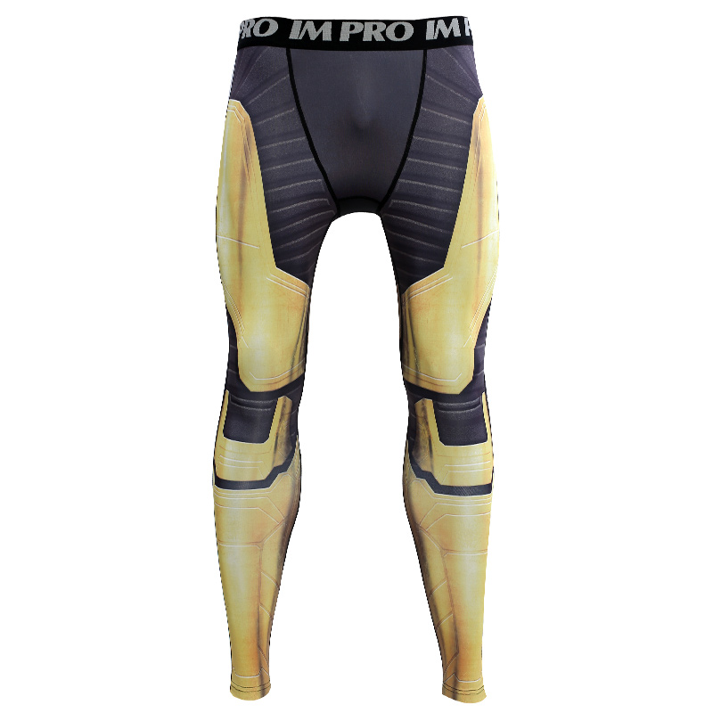 188c23cd4bbe4 Thanos Avengers 4 Endgam 3D Printed Pattern Compression Tights Pants ...