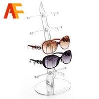 A110 2 New 5 Pairs Glasses Sun Glasses Display Shelf Sunglasses Glasses Plastic Frame Eyeglasses Display