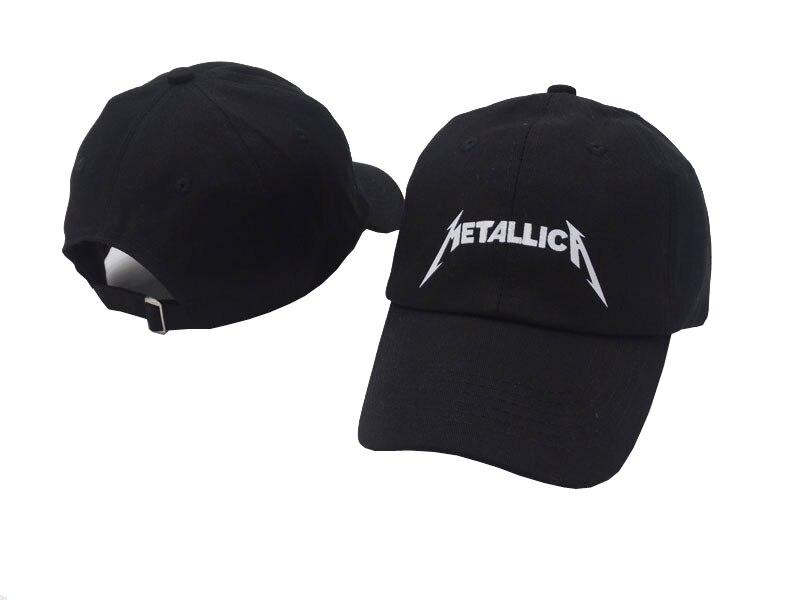 e53714d0b2d VORON high quality band Metallica Rock Music Baseball Cap Adjustable High  Quality Dad Hats Men Women