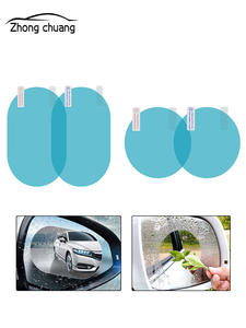 Protective-Film Rearview-Mirror-Protection Auto-Parts Window Rainproof Anti-Fog Clear