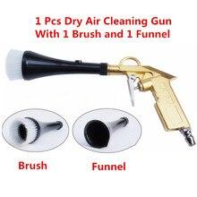 Impuls wysokiego ciśnienia powietrza Tornado pistolet myjni samochodowej do czyszczenia Tnterior powierzchni suchego powietrza szczotka do czyszczenia Spray narzędzia