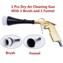Pistolet à tornade haute pression à impulsion dair, outil de nettoyage de Surface de voiture avec brosse de pulvérisation