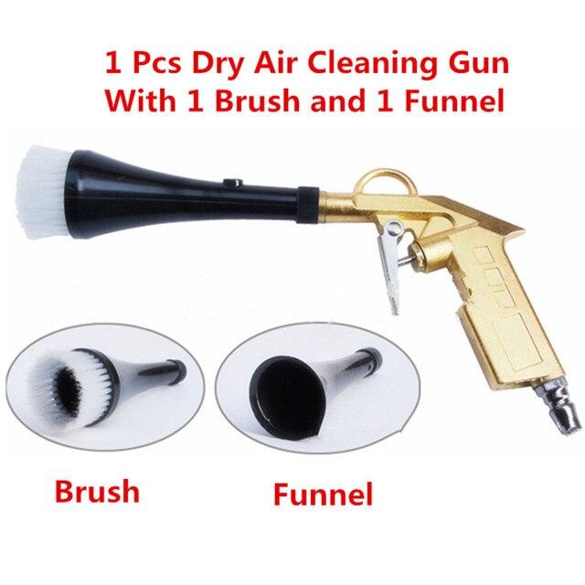 공기 펄스 고압 토네이도 총 자동차 세탁기 청소 tnterior 표면 건조 공기 청소 브러쉬 스프레이 도구