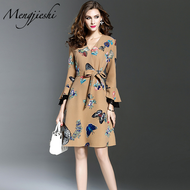 66ab2693d8 2018 Butterfly Shiny Gorgeous Dress Gift for Women New Year s Eve Smart  Sundress Winter Warm Tunic Dress Lurex Suit Snow Maiden