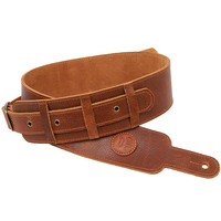 Soldier First Layer FULL GRAIN COW LEATHER Man made Guitar Strap for Acoustic Guitar Electric Guitar Bass